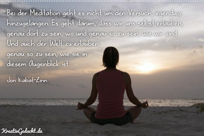 Meditation Annehmen - Seinlassen