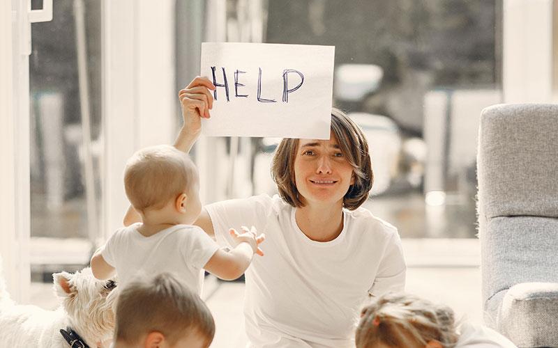 Hilfe annehmen