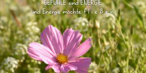 Gefühle sind Energie