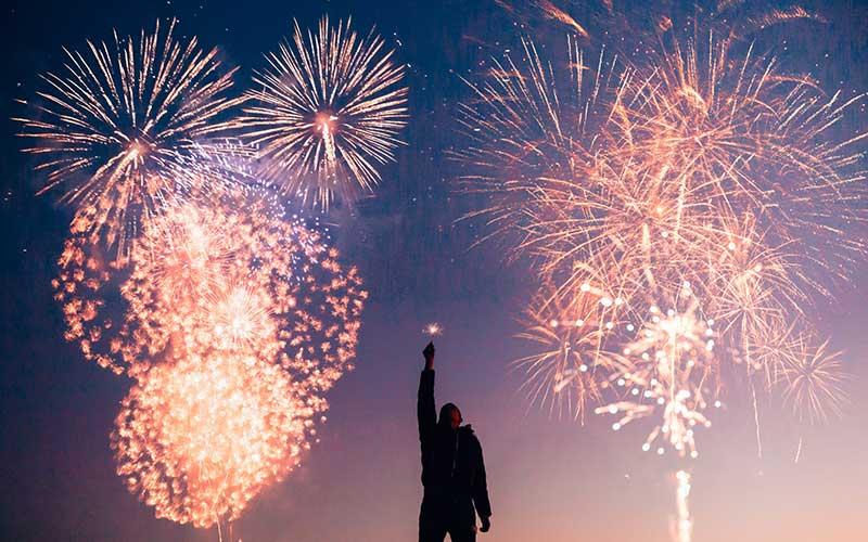 Das neue Jahr beginnen